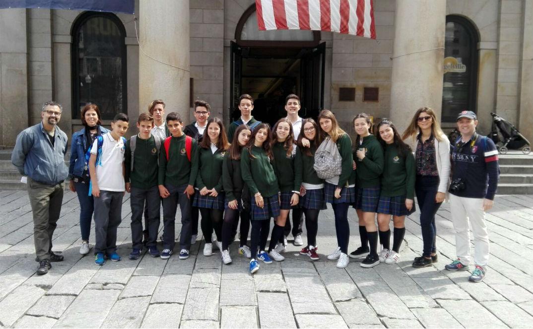 Intercambio de estudiantes de Illescas con alumnos norteamericanos