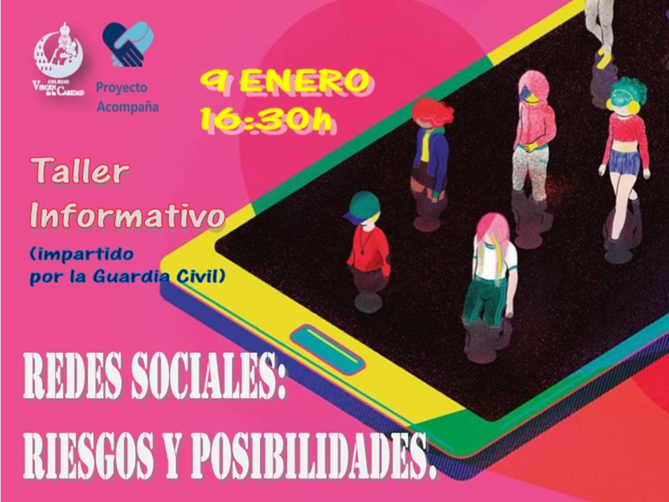 TALLER: REDES SOCIALES, ADOLESCENTES Y RIESGOS.